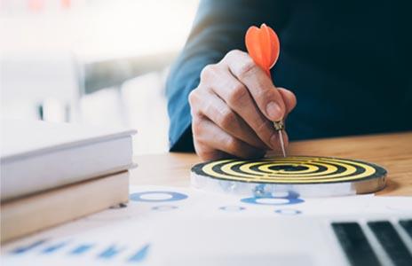 الرؤية والرسالة لشركة الاستشارات التسويقية والادارة